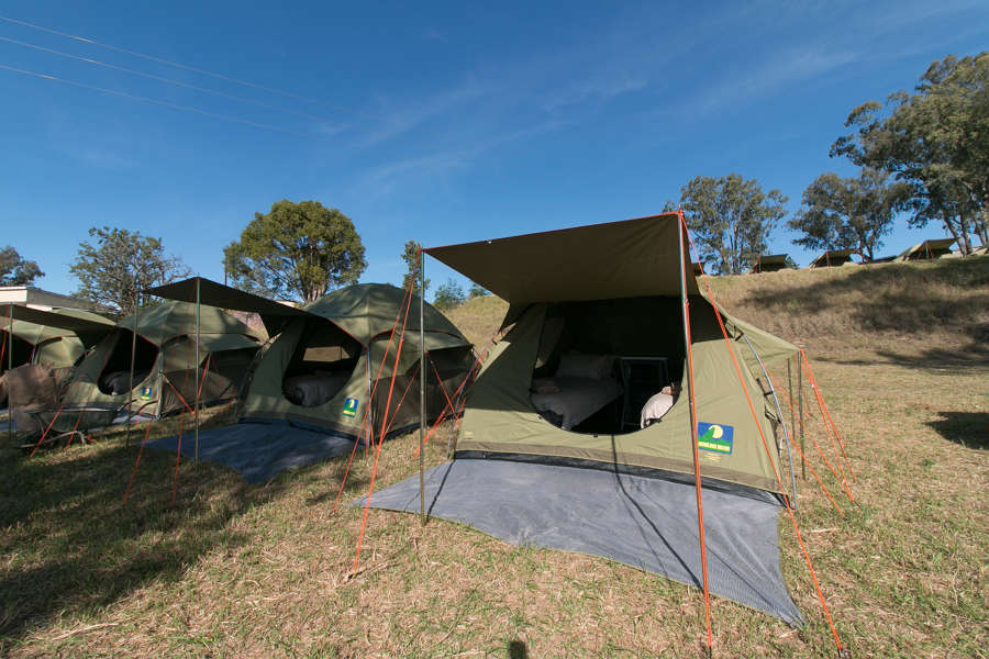 Addo Trailrunning packages luxury tents glamping